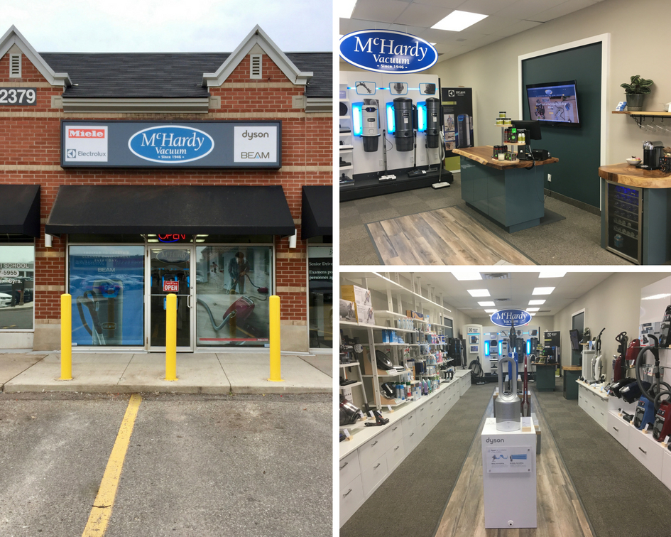 Our first store in the Toronto area selling and servicing vacuum cleaners, vacuum parts as well as air purifiers.